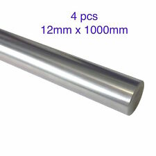 4pcs 12mm x 1000mm Precision Chromed Linear Shaft Rod for 3D printer CNC Oil