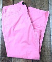 """LRL Lauren Jeans Women's Cotton Pink Pants Size 8P. 30x26. Rise 9"""""""