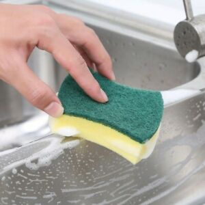 Cleaning sponge dish washing/ kitchen cleaning/ tile clean dual sides 1 sponge