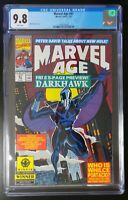 Marvel Age #97 Marvel Comics 1991 CGC 9.8 White Pages Darkhawk Appearance