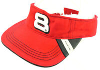 Dale Earnhardt Jr #8 Vintage Nascar Racing RED Visor Cap Hat OSFA