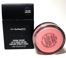 MAC Casual Colour Lip & Cheek Color *NEW IN BOX *FULL SIZE *FOR YOUR AMUSEMENT