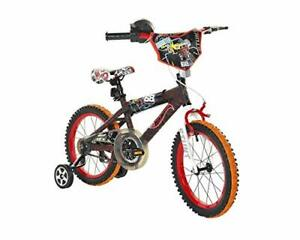 Dynacraft Hot Wheels Kids Bike Boys 16 Inch with Rev Grip Accessory Front Han...
