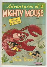 ADVENTURES OF MIGHTY MOUSE, BY PAUL TERRY, # 2, JAN. 1952, VG