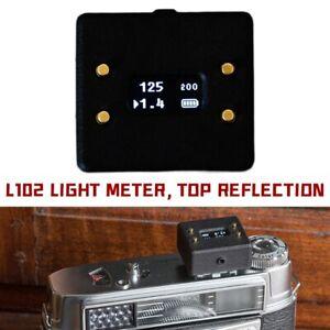 L102Belichtungsmesser Topreflexion Hot Shoe Light Meter messgerät Filmfotografie
