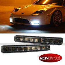 """For Boxster 6"""" Smoke Lens White LED Daytime Running Fog Parking Signal light"""