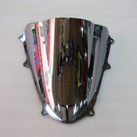 2009 GSXR1000 K9 For Suzuki 2010 Silver Screen Double bubble Windshield