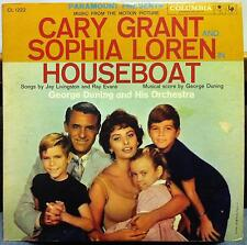 SOUNDTRACK GEORGE DUNING houseboat LP Mint- CL 1222 CBS 6 Eye 1958 Record