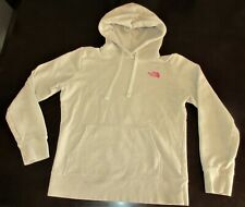 The North Face Hoodie Light Brown with Pink Women's Medium
