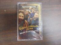 """NEW SEALED """"Gibson Miller"""" Where's Smoke  Cassette Tape (G)"""