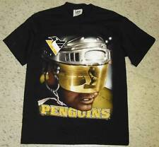 Pittsburgh Penguins Vintage 90's NHL Shirt Original sz Medium Brand New DS  NOS