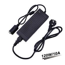 Neu 10A Spannungswandler 230V auf 12V mit Zigarettenanzünder für 12V Netzadapter