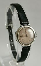 Vtg M R C Croissant Phenix French Art Deco Solid Silver Cased Ladies Wrist Watch