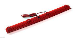 FITS: SUBARU IMPREZA STI8 GDB NEW AGE SPOILER RED LED BRAKE LIGHT 396mm Y2846