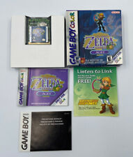 The Legend of Zelda Oracle of Ages (Game Boy Color) Authentic CIB Complete