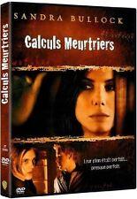 DVD *** CALCULS MEURTRIERS *** avec Sandra Bullock ( neuf sous cello )