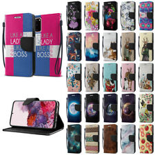 """For Samsung Galaxy S20 6.2"""" 2020 Luxury Flip Card Slot Wallet Pouch Case Cover"""