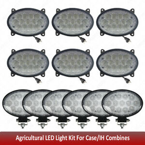 Agricultural LED Light Kit For Case/IH Combines Tractors 5088,6088,7010,7088 ++