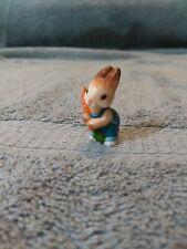 Vintage Miniature Hallmark Bunny Rabbit Figurine 1984