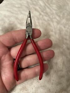 """Vintage KRAEUTER No. 83 Unique Jaw Needle Nose Pliers 5"""" Long Made in USA"""