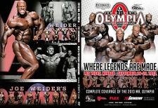 bodybuilding dvd 2013  MR OLYMPIA  & 202 showdown