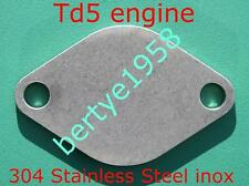 EGR Blanking Plate Landrover Discovery 2 & Defender Td5 4mm Stainless Steel