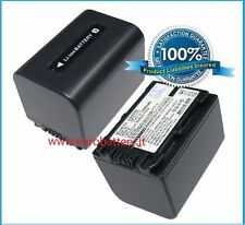 Batteria HQ NP-FV70 per SONY HDR-XR150 XR350 HDR-XR550 no firmware 4,00