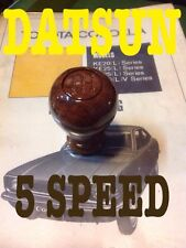 Wood shift knob 5 Speed DATSUN PICUP TRUCK 1000 1200 1300 1400 1500 1600 1800