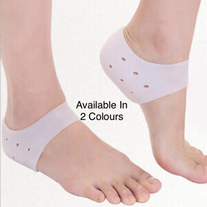 1Pair Heel Protector Protective Sleeve Heel Spur Pads for Relief Plantar