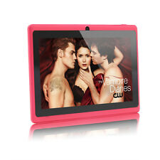 "iRulu 7"" Tablets PC Google Android 4.4 Quad Core Dual Cameras WIFI 16GB Pad New"