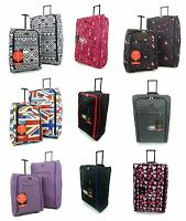 XL Extra Large Suitcase Lightweight Wheeled Travel Trolley Hand Luggage Bag Case