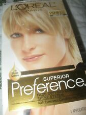 Loreal Paris Superior Preference Hair Color 9 1/2 NB Lightest Natural Blonde