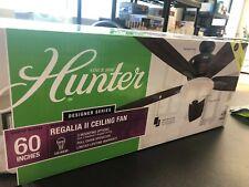 Hunter Regalia II 60 in. New Bronze Ceiling Fan LED Light