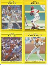 1991 Fleer St. Louis Cardinals Team Set