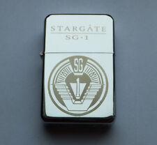 STARGATE SG-1 -  chrome petrol lighter [Cd:521.mc-42-lP.] mini poster