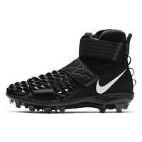NIKE FORCE SAVAGE ELITE 2 Mens High Top Football Cleats Lineman Black, PICK SIZE