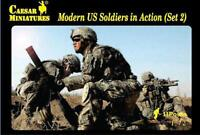 Caesar Miniatures CMH094 Modern U.S. Soldiers In Action (Set 2)