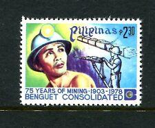 Philippines 1354, MNH, Benguet gold mining industry 1978.