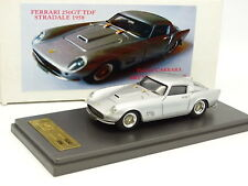 Carrara Models 1/43 - FERRARI 250 GT TDF STRADALE 1958 Silver