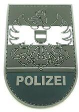 Polizei Österreich Black Ops Rubber Klett Patch