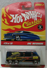 Hot Wheels Classics Gmc Motorhome Series 3 Chrome Mint On Card #29 of 30
