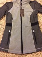 NWT CALIA by Carrie Underwood Women's Core Heather Fitness Jacket Free Shipping