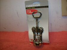 Farberware Holiday Classic Wing Corkscrew Wine Natural & Synthetic Cork Remover