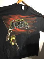 NEW INAUGURAL Rockstar Uproar Festival 2 XXL T Shirt Disturbed Avenged Sevenfold