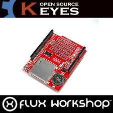 Data Logging Shield XD-204 Genuine Keyes SD RTC Arduino UNO FAT32 Flux Workshop