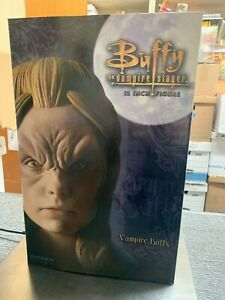 "NEW IN BOX 2005 BUFFY THE VAMPIRE SLAYER 12"" VAMIRE BUFFY FIGURE SIDESHOW"