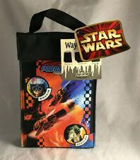 Vintage Star Wars Podracing Anakin Sebulba Vinyl Lunch Bag Pail - New w/ Tags