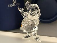 Swarovski Figurine Blanche Neige Nain 7 Cm. avec Ovp & Zertifikat. Haut Etat