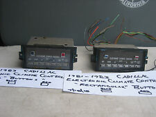 1981-1983 CADILLAC CLIMATE CONTROL,DIGITAL,DEVILLE,FLEETWOOD,ELECTRONIC