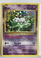 Mew HOLO RARE 70/108 Pokemon TCG XY Evolutions Card NM Shiny foil